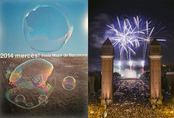 La Mercè 2014 es la fiesta de Barcelona por excelencia